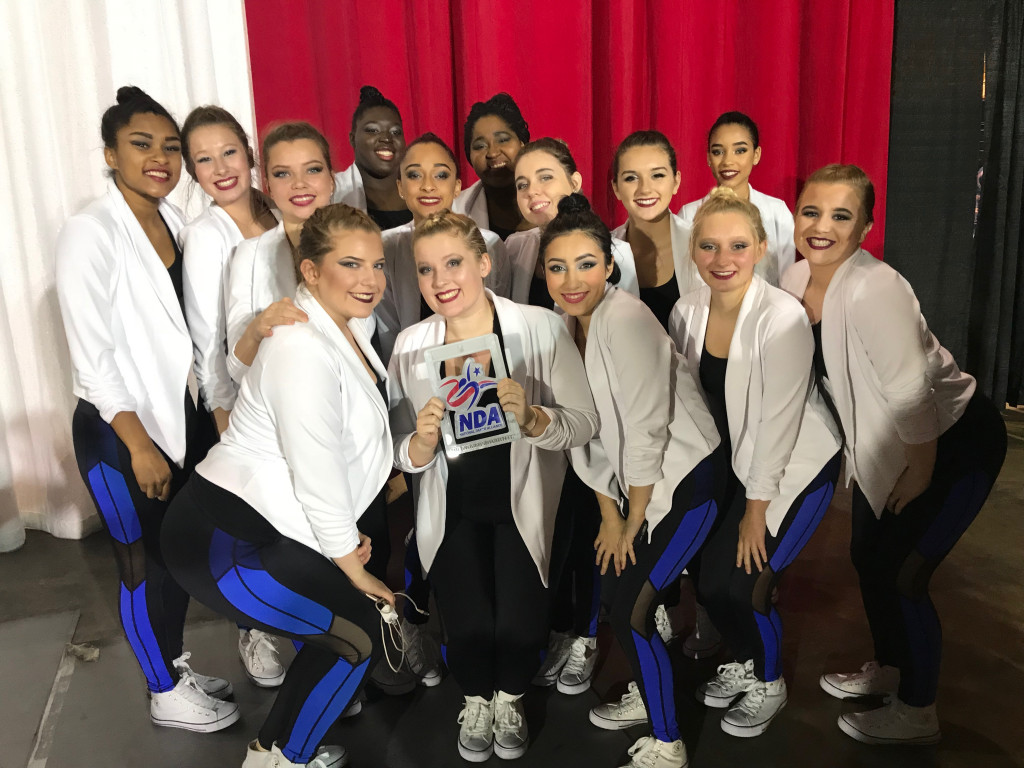 LHS Dance Team takes 2nd place