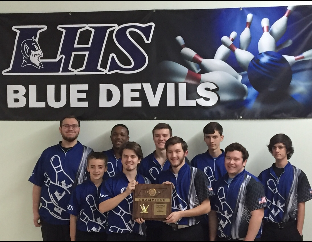 Blue Devils Bowling District Champions
