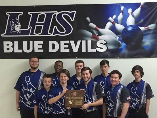 Boys Bowling District Awards