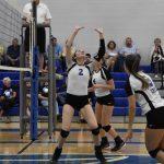 Girls Varsity Volleyball defeats La Vergne 3 – 0