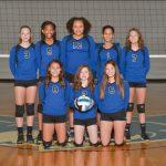 Girls Junior Varsity Volleyball defeats Lavergne 2 -0