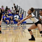 Girls Varsity Volleyball defeats Smyrna 3 – 0