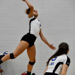 Girls Varsity Volleyball beats Mt. Juliet 3 – 0