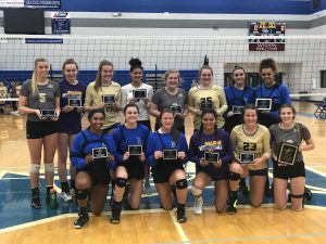 volleyball all district awards