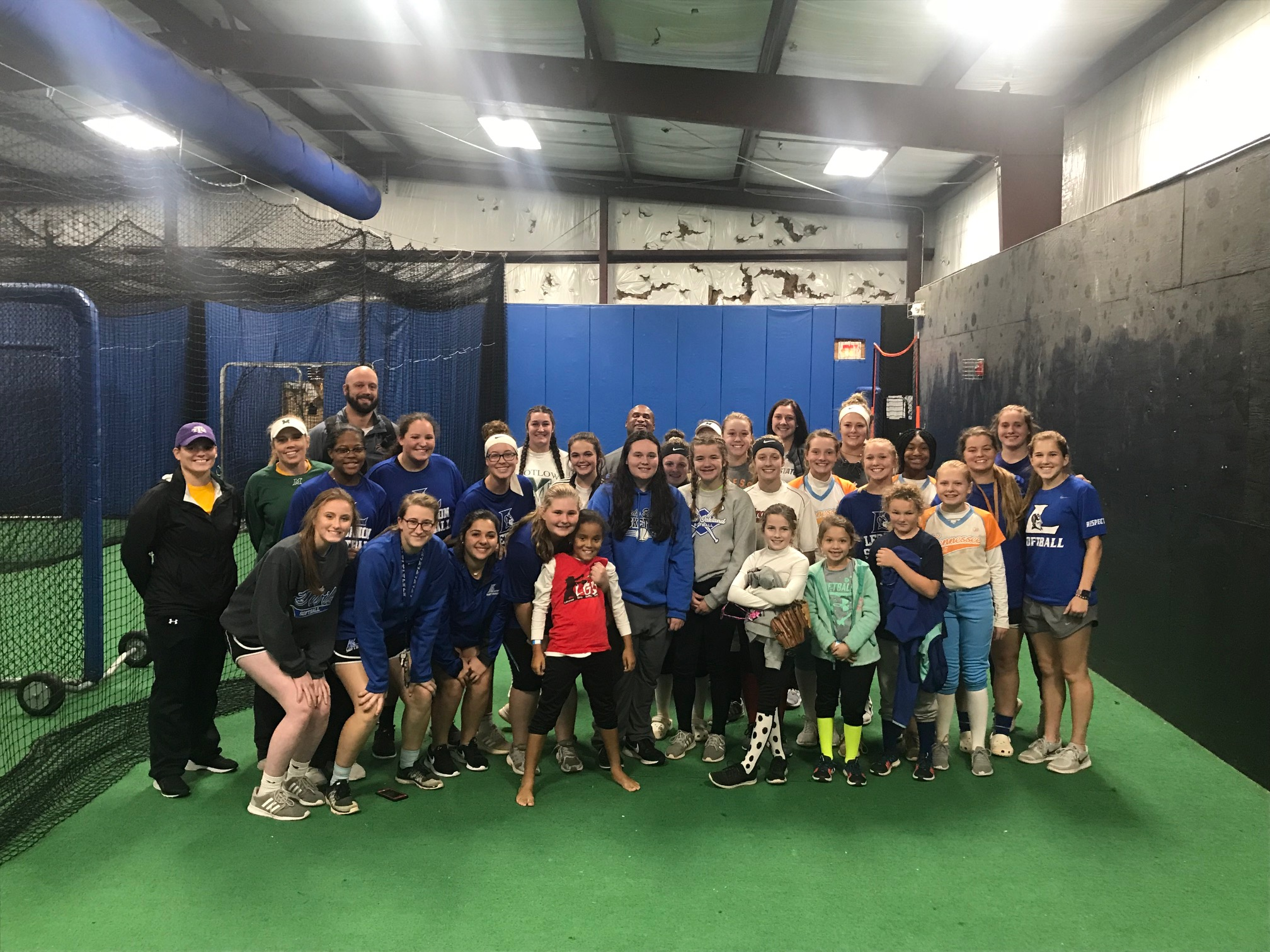 Softball Fundamentals Clinic Highlights