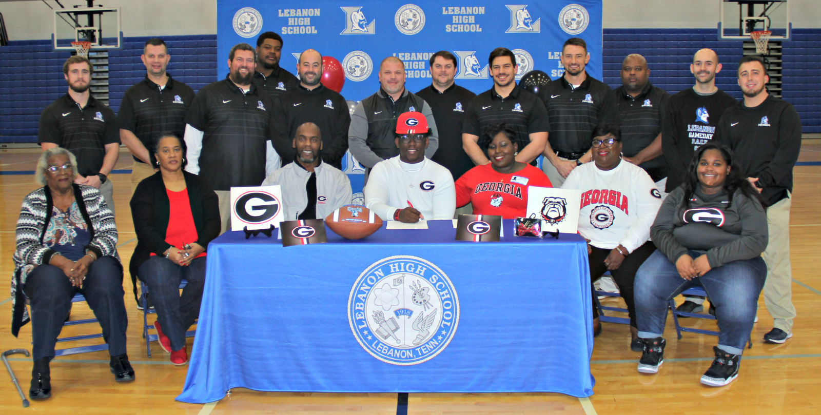 Zion Logue Signs with University of Georgia- Video by the Lebanon High School Blue Devil News Team