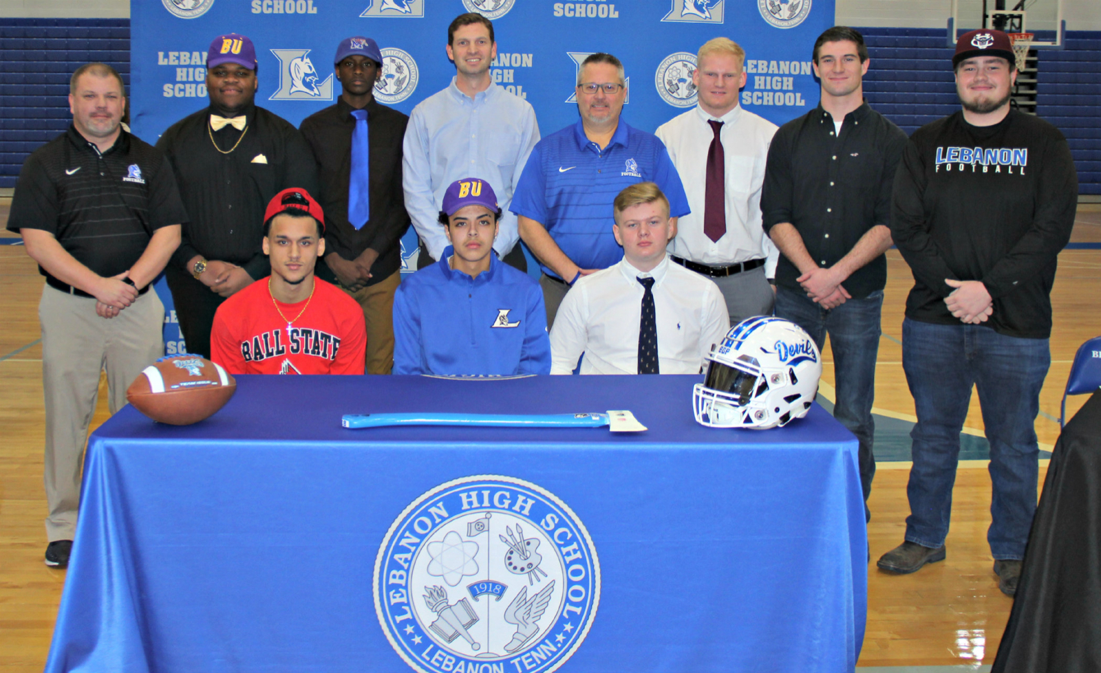 Big Day for LHS Football – National Signing Day, photo by Tommy Bryan, The Wilson Post