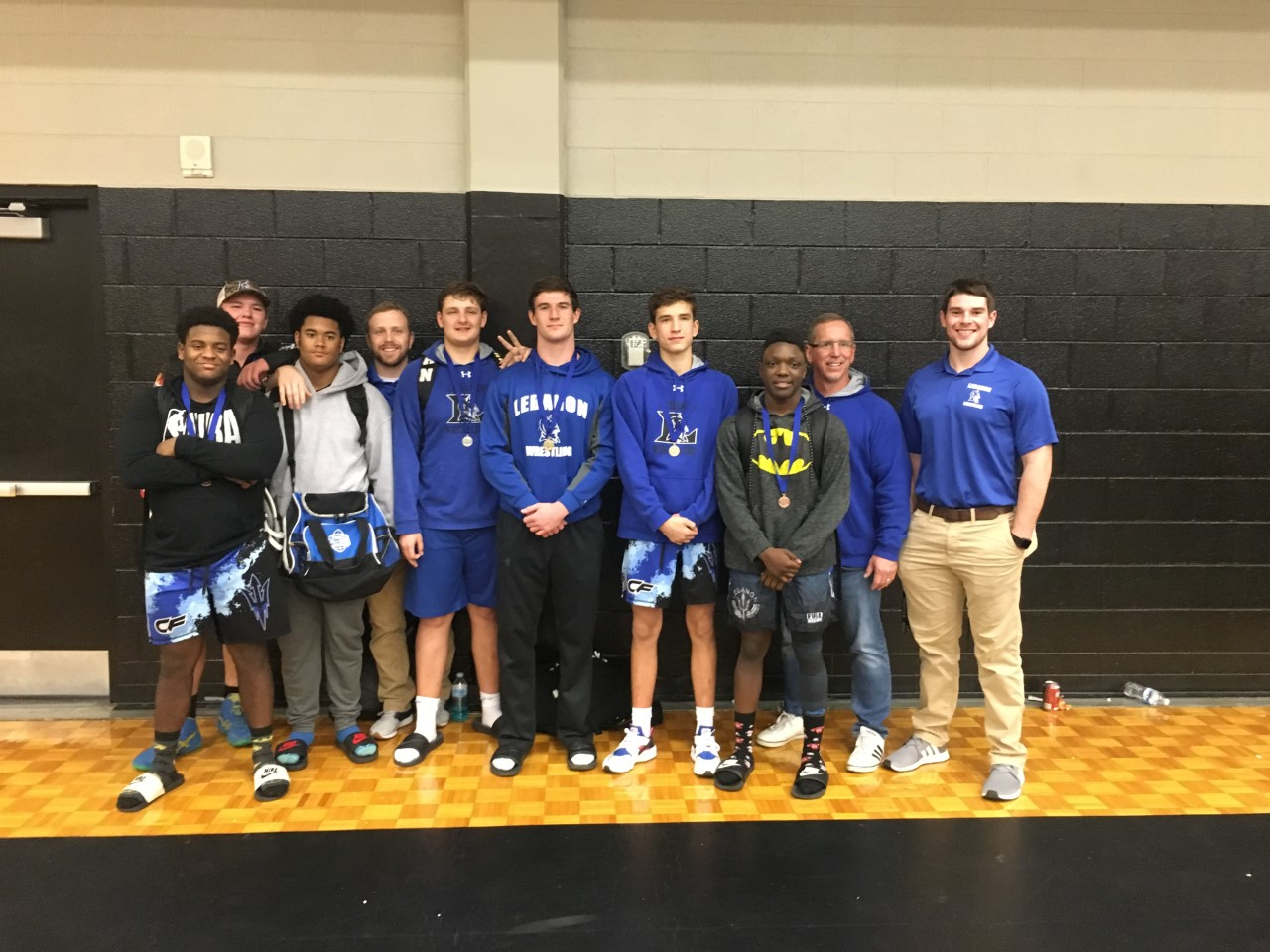 Congratulations Wrestling team- Finished 3rd as a team in the Region and has 7 state qualifiers