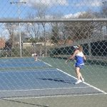 Girls Varsity Tennis falls to White House 4 – 3