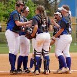 Girls Varsity Softball beats Station Camp 8 – 6