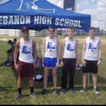 Boys Varsity Track finishes 2nd place at Cookeville Invitational