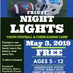 FREE Youth Football & Cheerleading Camp