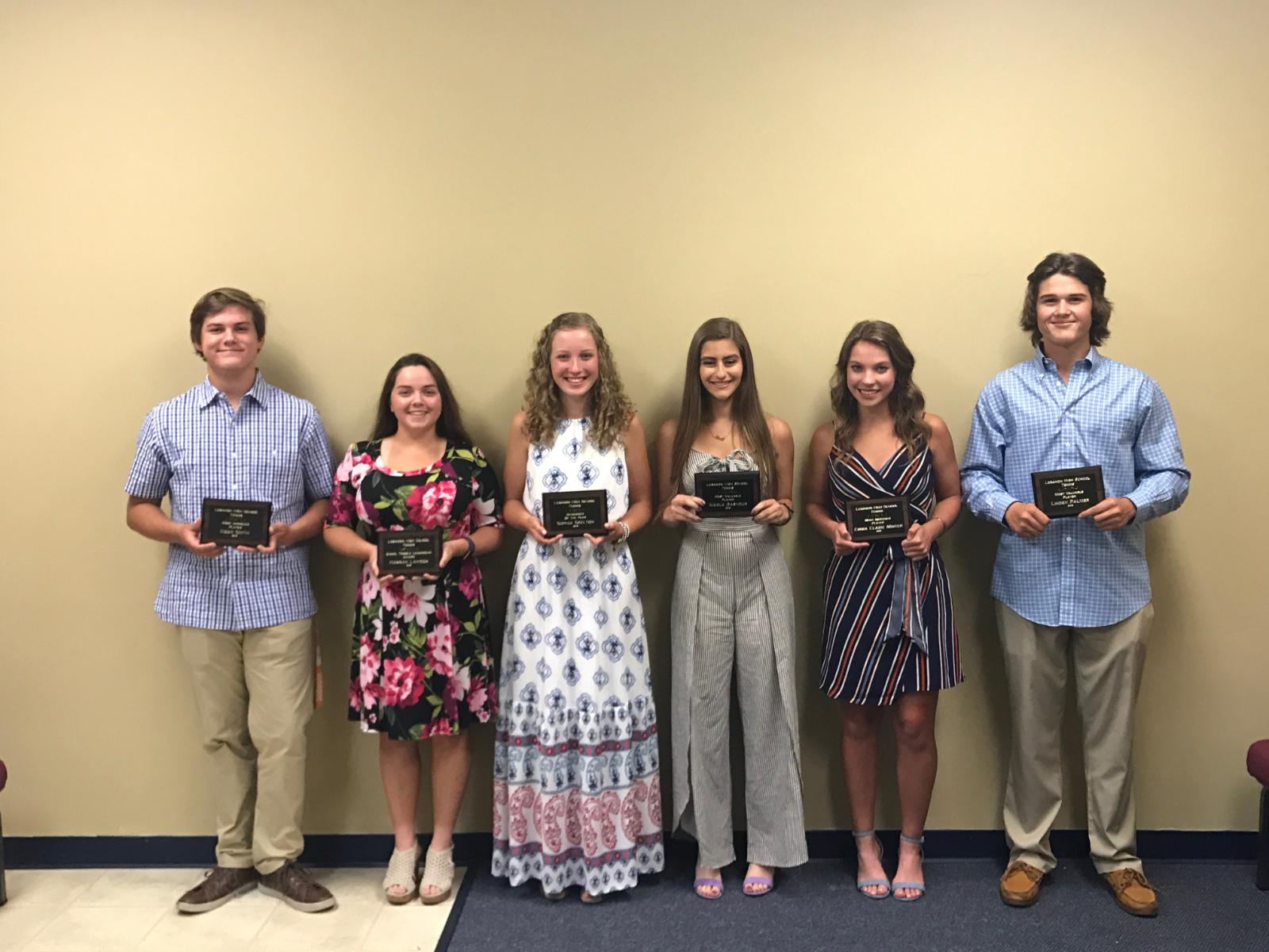 Congratulations Tennis Banquet Award Winners