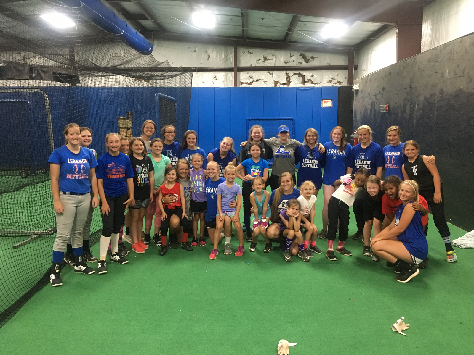Softball Summer Camp Day 1 pictures– Day 2 of Softball Camp Today 9am-11am