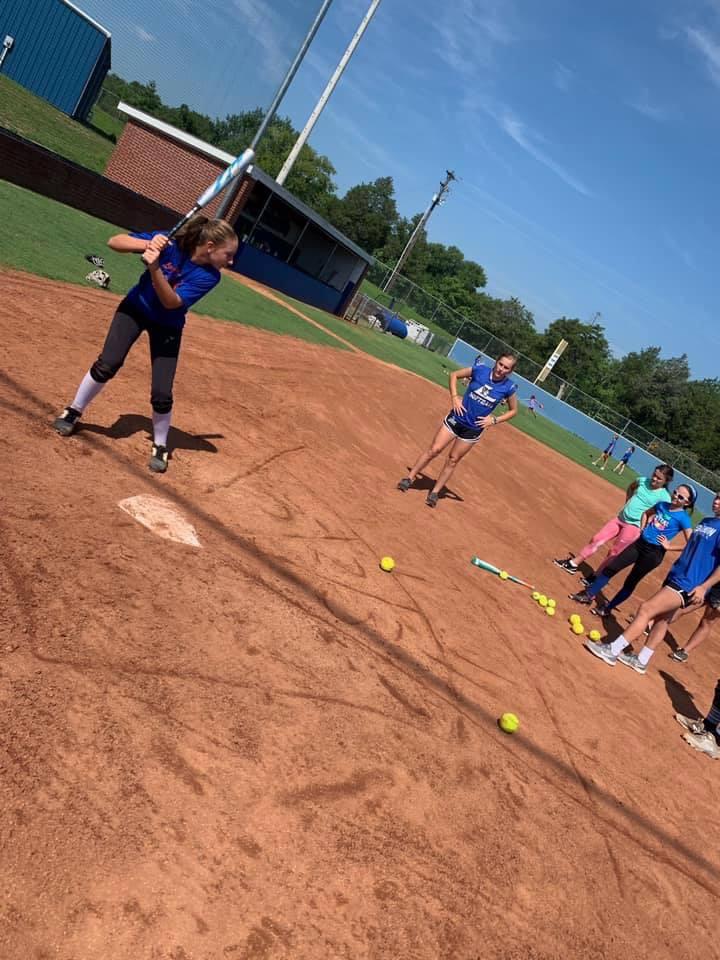 softball camp day 1