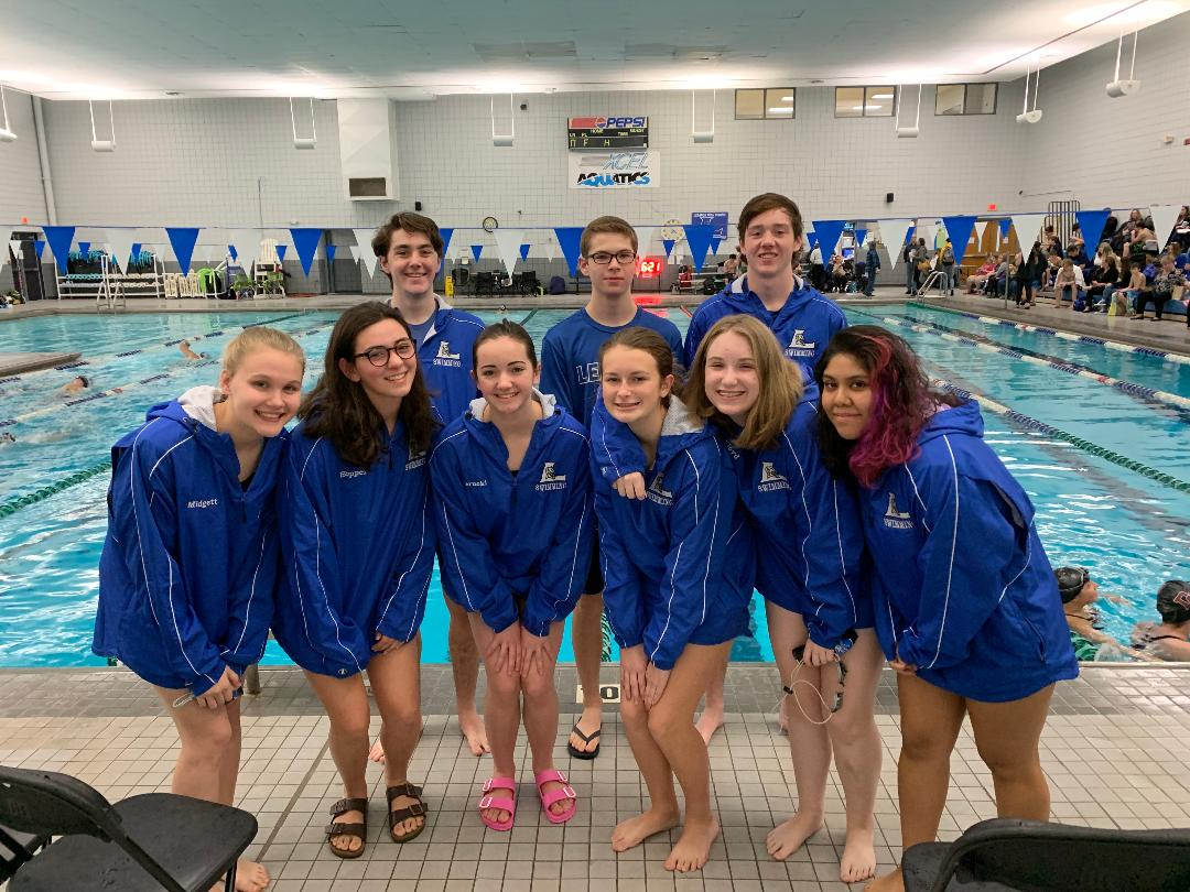 Swim Team Competes in Wilson County Championships
