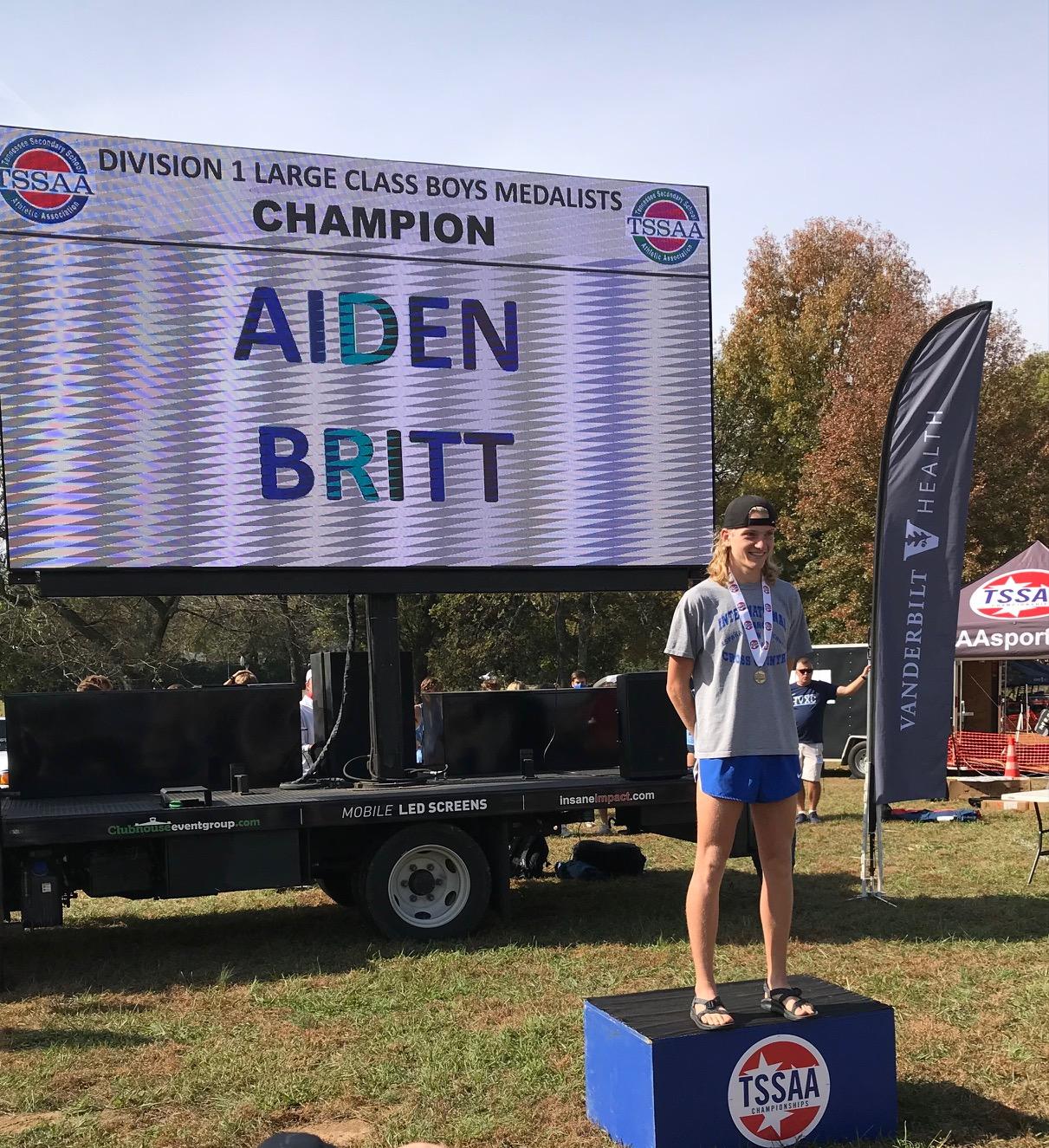 State Champion Aiden Britt wins it all!