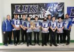 Boys Varsity Bowling beats Franklin County 17 – 10 to advance to another State Tournament appearance