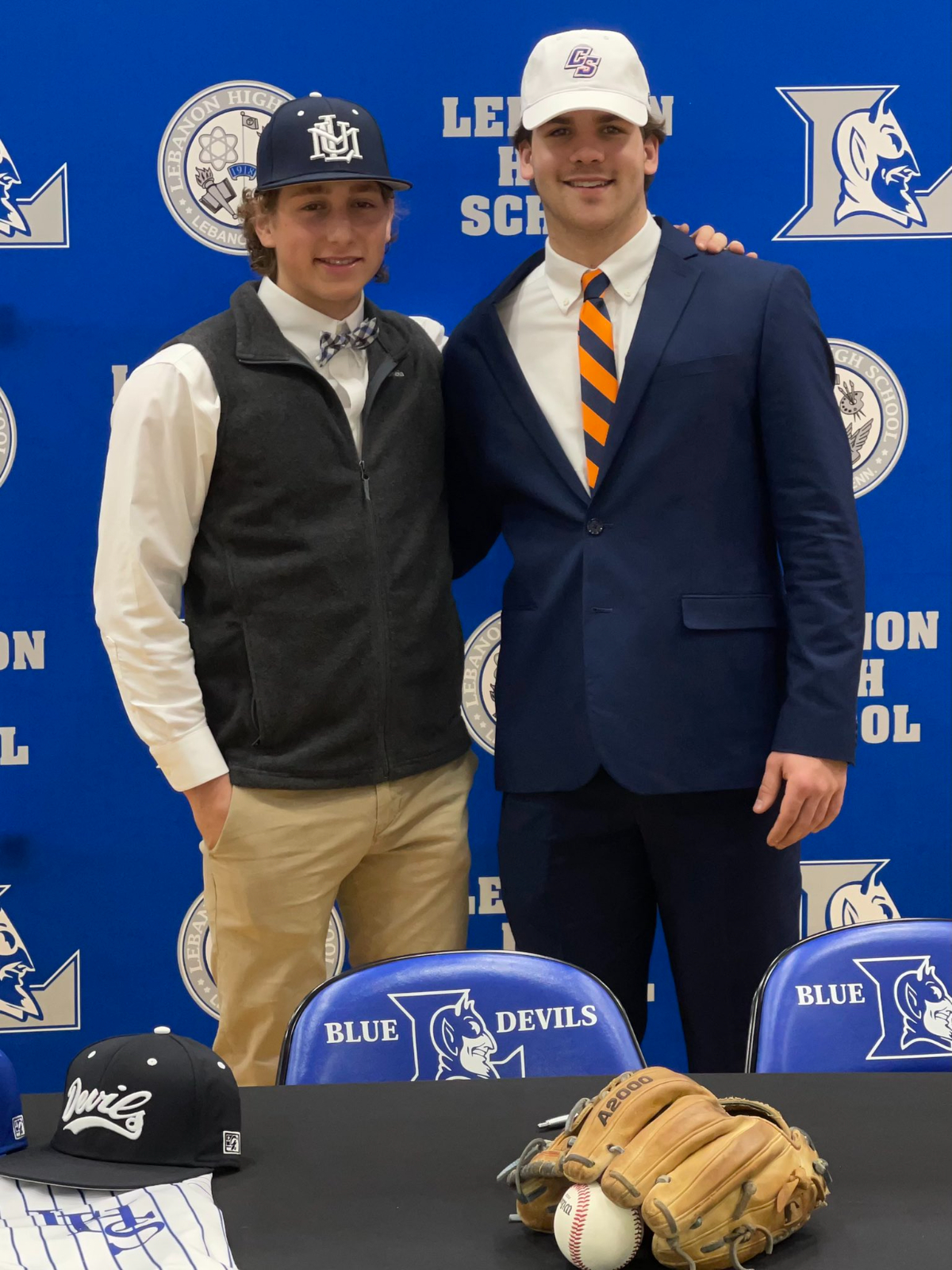 Congratulations to LHS Baseball players, Ty Bailey and Carson Boles, for making it official today!