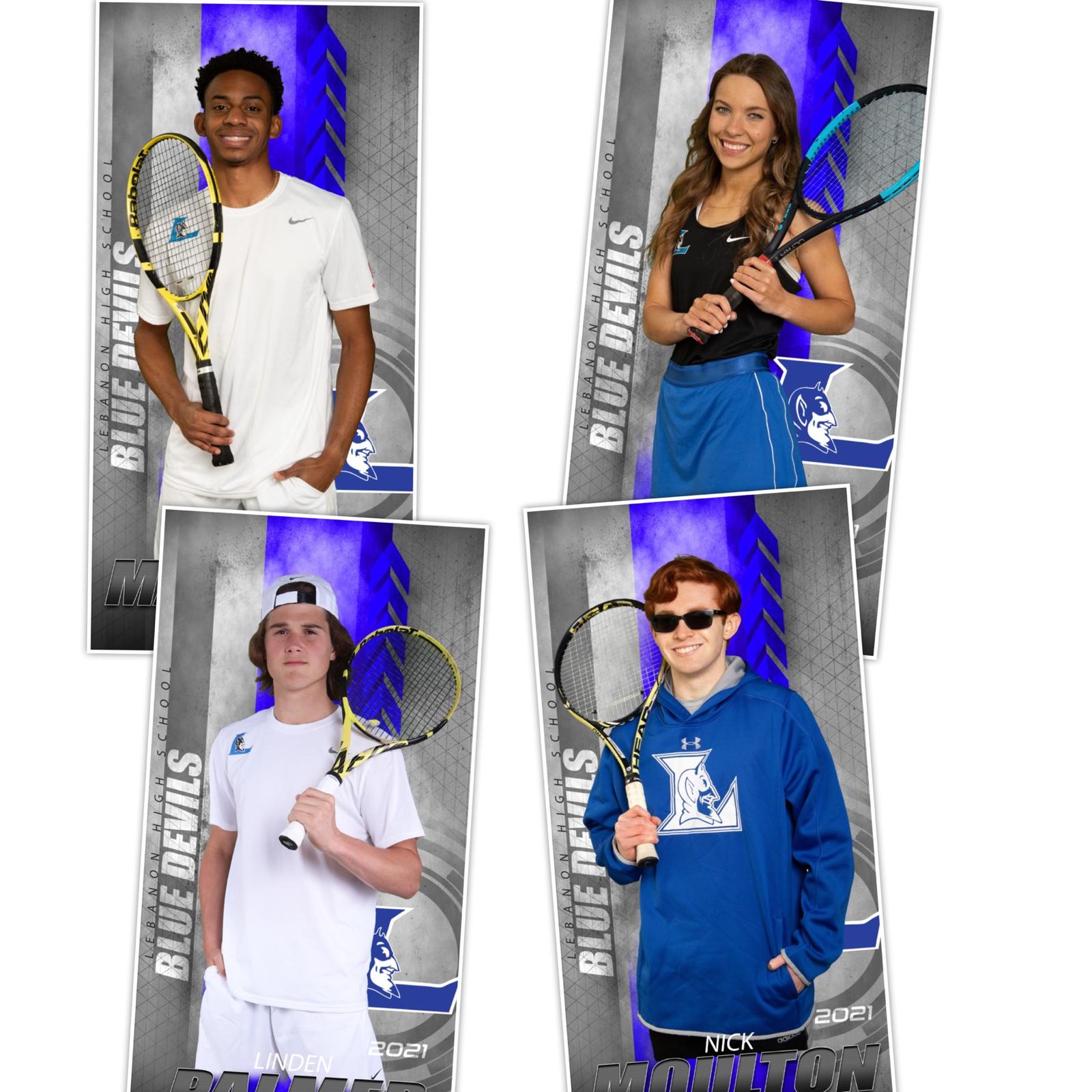 Seniors 2021 Tennis Team
