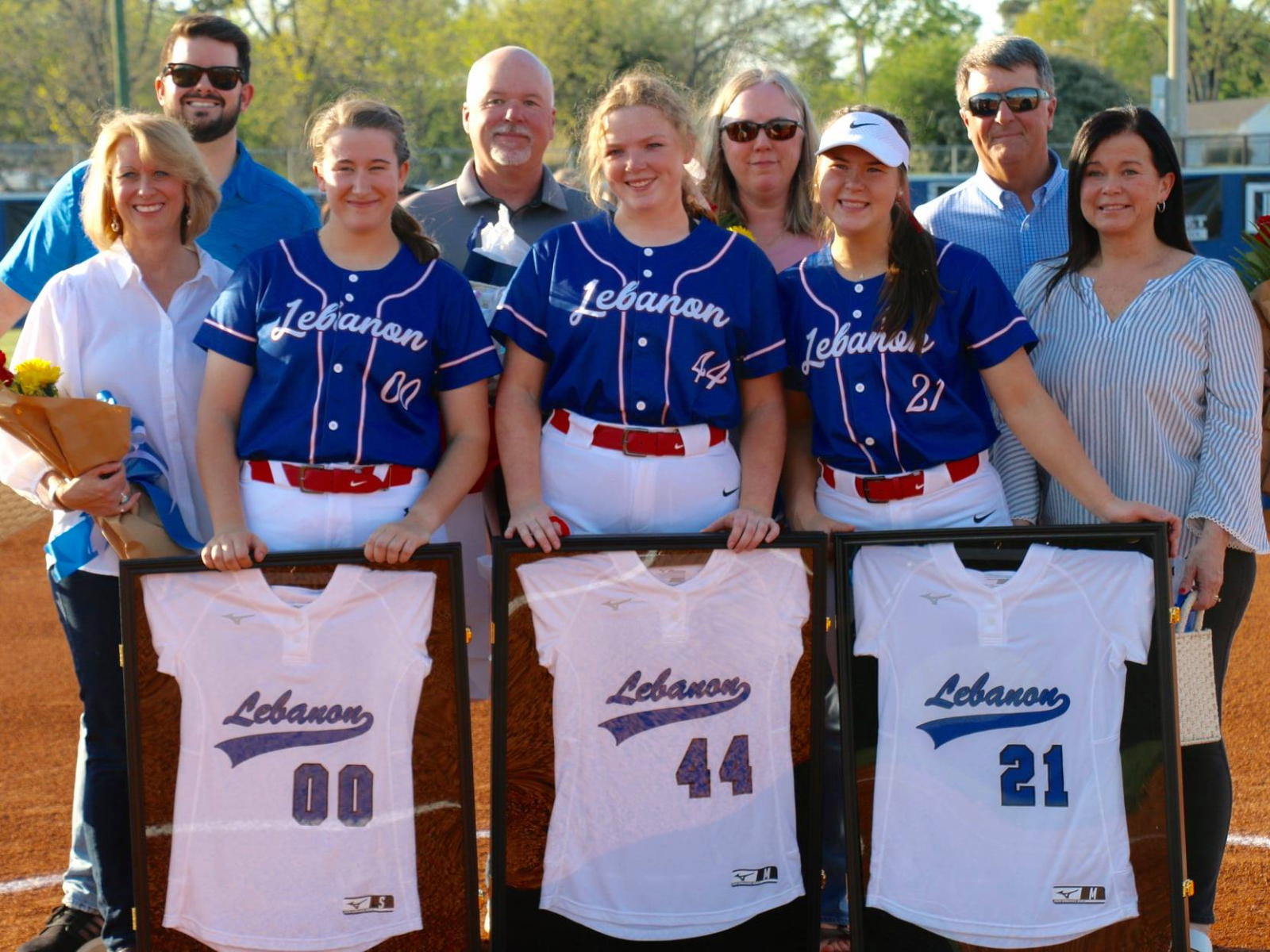 2021 Softball Senior Night