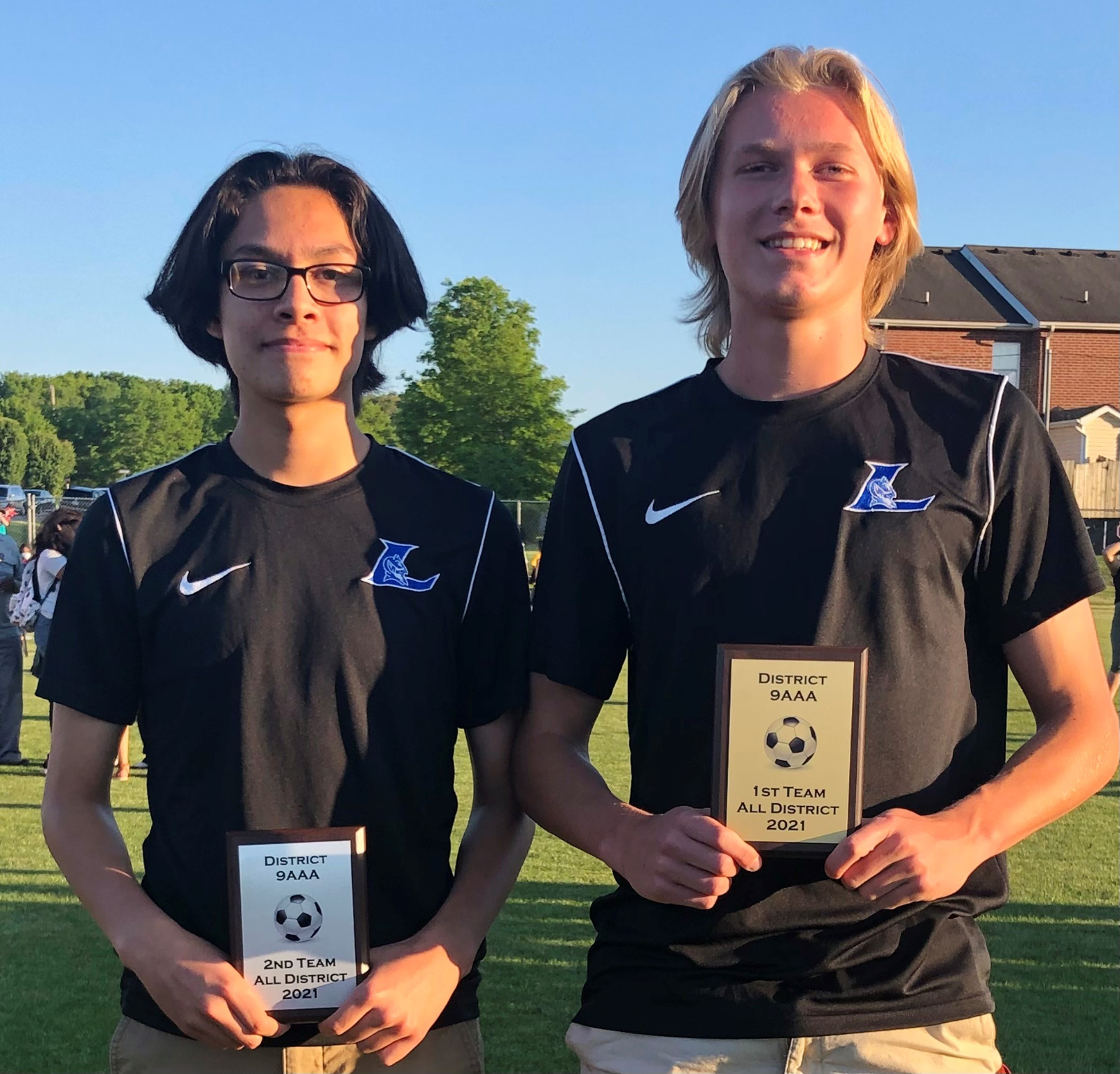 Congratulations to Sean Redmond and Jesse Garduno LHS Soccer