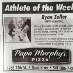 HRVHS Wreagle is Athlete of the Week