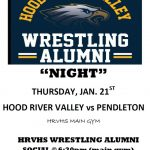 Alumni Night Thursday