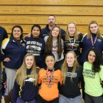 Lady Wreagles earn 3 medals & 5th place as a team at the Grandview Ladies Invitational on Sat.