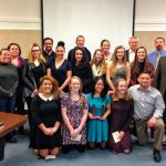 HRVHS's State Champion Girls Wrestling Team honored at the school board meeting