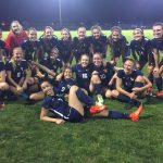 Hood River Valley High School Girls Varsity Soccer beat Woodburn High School 1-0