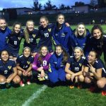 Hood River Valley High School Girls Varsity Soccer beat Pendleton High School 9-0
