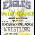 Hood River Wrestling Spaghetti Dinner & Auction