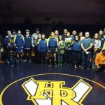 Wreagle boys compete against Pendleton, unveil the Ring of Fire on Senior Night!