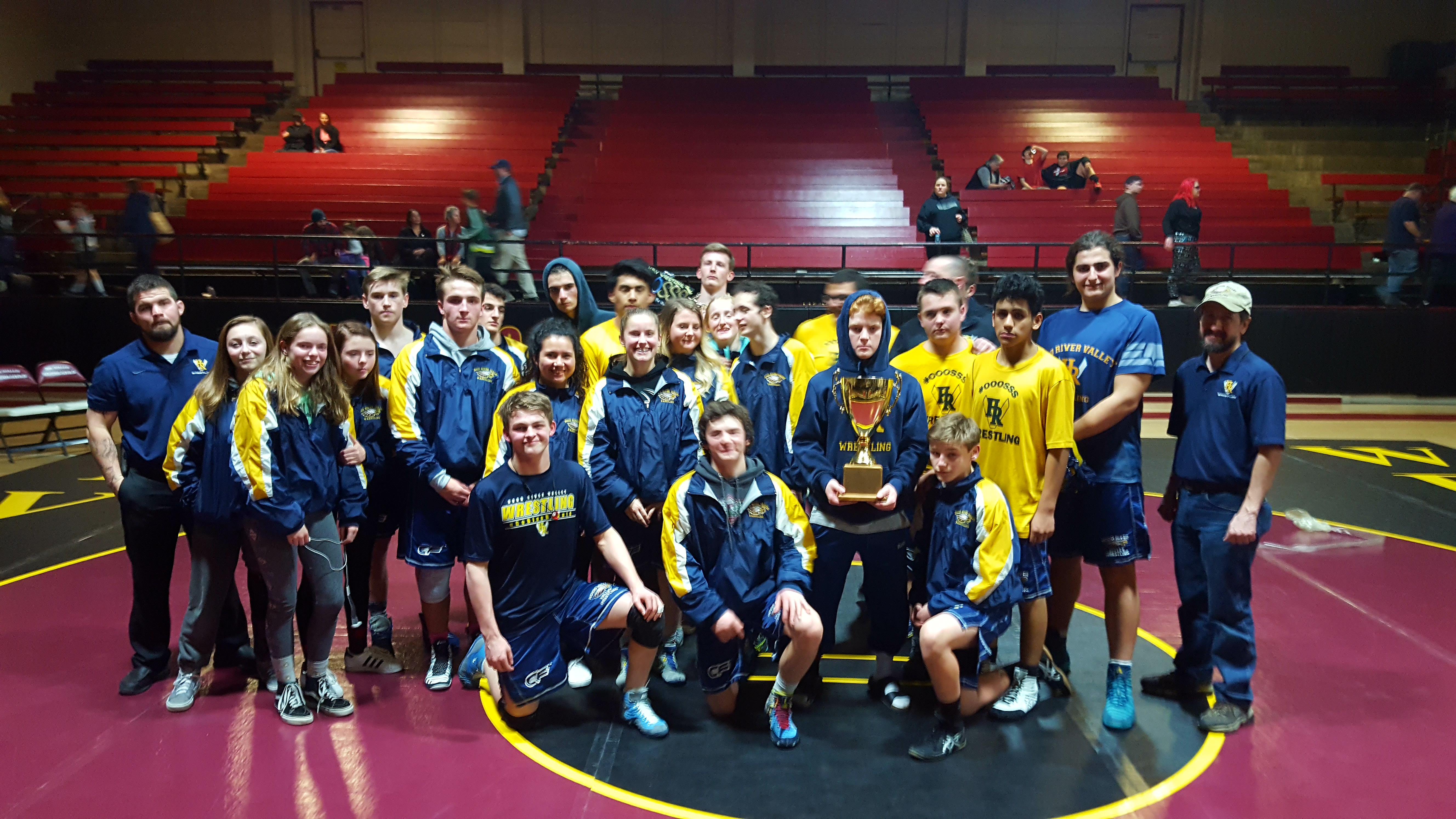 Wreagles earn River Clash Cup vs The Dalles 60-15