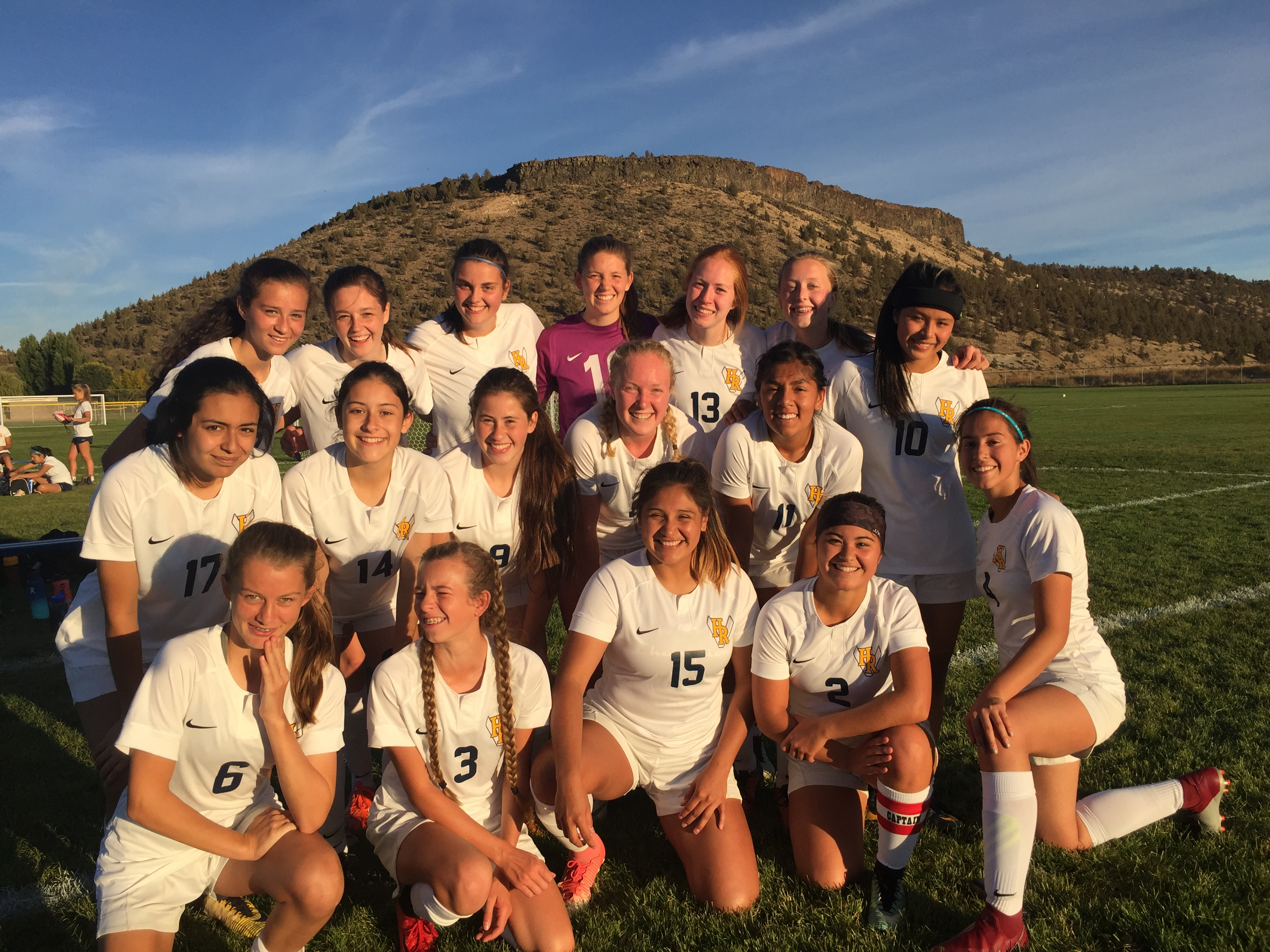 Girls Soccer ready to take on the Redmond Panthers Thur, Sept. 27 at 4:30pm