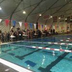 Boys Swimming Wins First Dual Meet of the Season