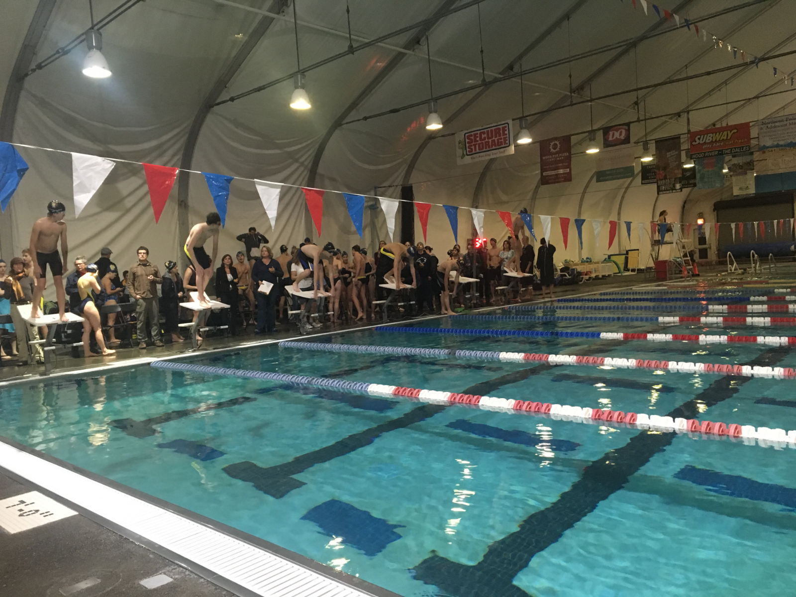 Boys Swimming Wins First Dual Meet of the Season