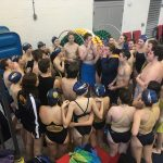 Boys Swimming Ties One – Loses One in Portland