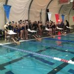 Eagle Swimmers split dual with the Gresham Gophers