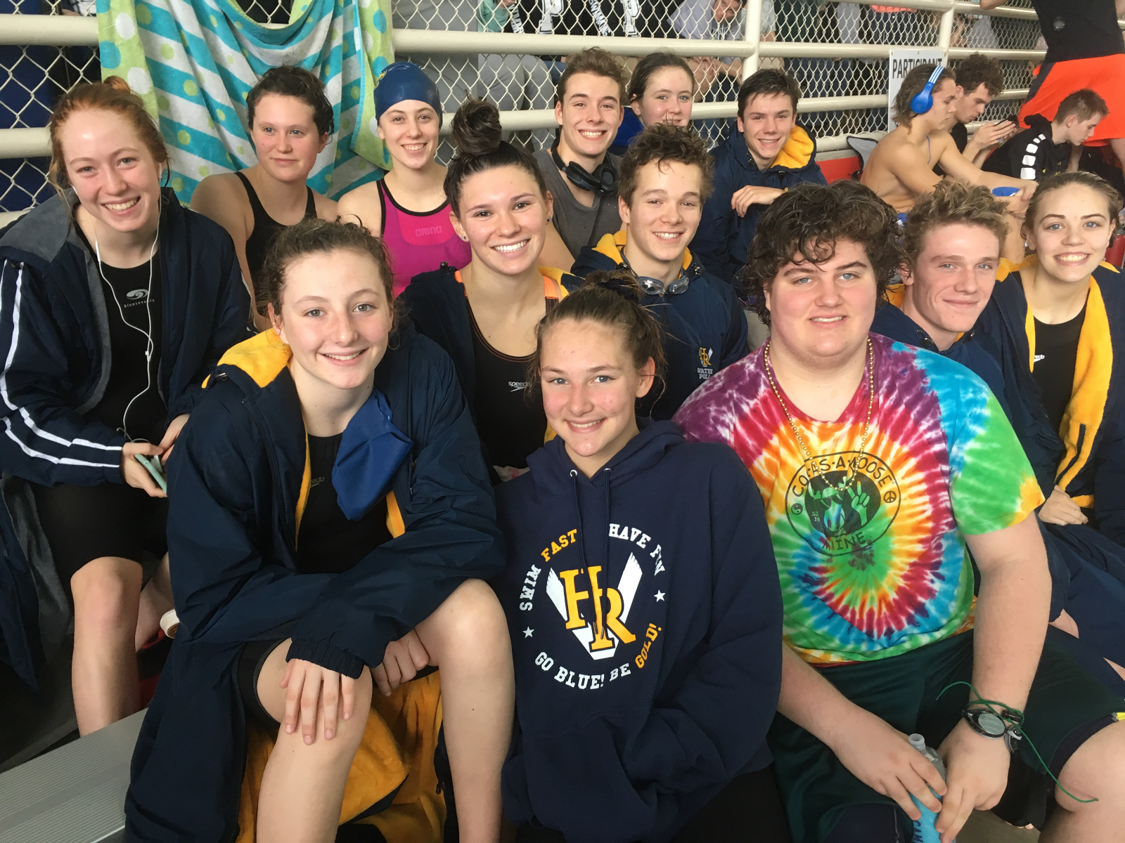 Swimmers Finish Season With Strong State Finish