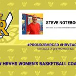Steve Noteboom selected to lead HRVHS Women's Basketball