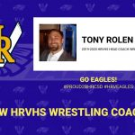 Tony Rolen Selected as New Head Wrestling Coach for the HRVHS Wreagles