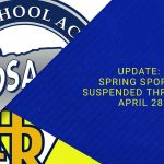 Spring Sports Update from March 19