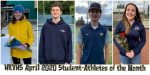 Congratulations HRVHS 2020 April Student-Athletes of the Month
