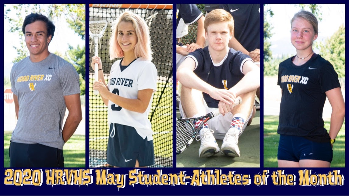 Congratulations to the 2020 HRVHS May Student-Athletes of the Month