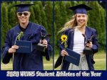 2020 HRVHS Student Athletes of the Year – Cruise Hawke & Josephine Dickinson- GO EAGLES 🦅!!!