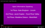 HRVHS Speech and Debate start competition!