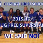 CHS Drug Free Superstars!
