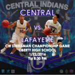 CENTRAL SET FOR CHAMPIONSHIP SHOWDOWN